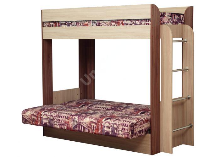 Немо кровать с матрацем, Детская мебель, Двухъярусные кровати, Стоимость 28215 рублей., фото 2
