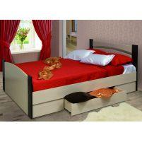 Кровать 1400 с бескаркасным основанием (спальное место 1400*2000)+Ящик универсальный