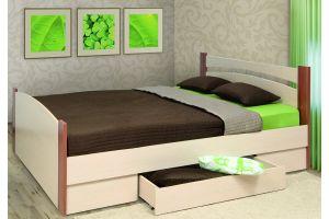 Кровать 1600 с бескаркасным основанием (спальное место 1600*2000)+Ящик универсальный
