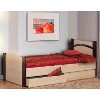 Кровать 900 с бескаркасным основанием (спальное место 900*2000)+Ящик универсальный для кровати 900