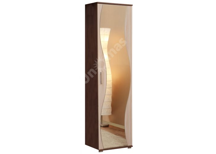 Визит - М07 шкаф для одежды (к Визиту-М10)+Зеркало № 2, Спальни, Шкафы, Стоимость 7489 рублей., фото 2