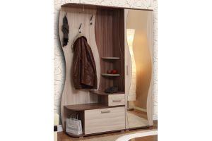 Визит - М10 шкаф комбинированный + Шкаф для одежды Визит - М07 + Зеркало №2