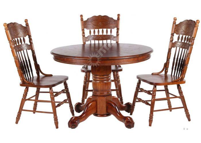 4260 NNDT STC(HN) Стол Темный орех, Кухни, Обеденные столы, Стоимость 26565 рублей., фото 2