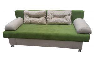 Диван Еврокнижка / Green-Beige