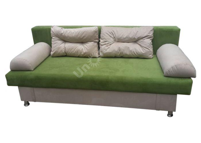 Диван Еврокнижка / Green-Beige, Мягкая мебель, Прямые диваны, Стоимость 11990 рублей.