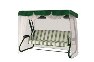Redford 591 Green Premium Качели садовые 3-х местные с АМС