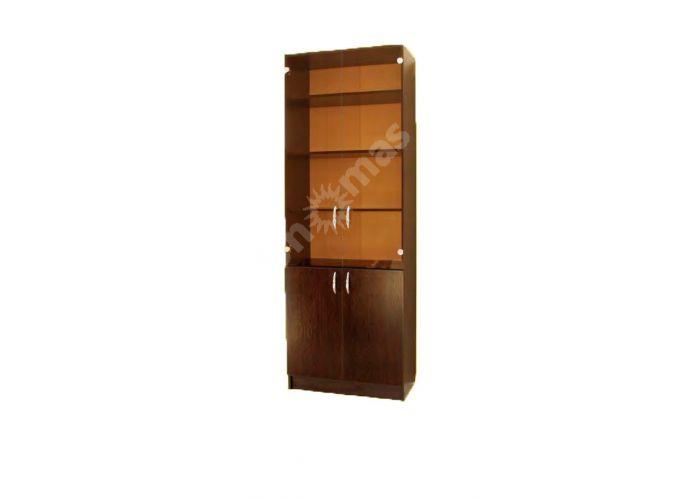 Шкаф со стеклом , Офисная мебель, Офисные пеналы, Стоимость 9255 рублей.
