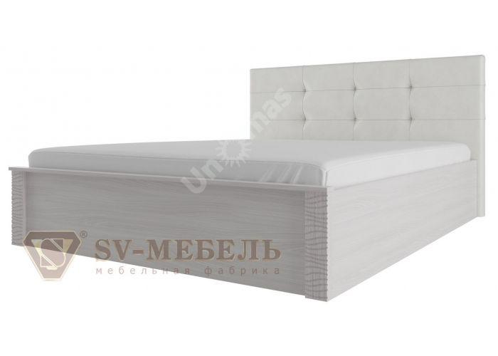Гамма 20, Кровать двойная (универсальная) с мягким изголовьем 1,6*2,0, Спальни, Кровати, Стоимость 13495 рублей.