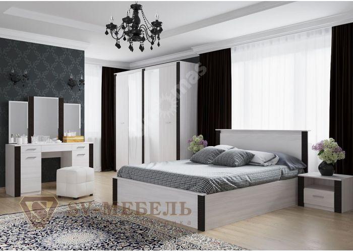 Гамма 20, Кровать двойная 1,8*2,0, Спальни, Кровати, Стоимость 10787 рублей., фото 3
