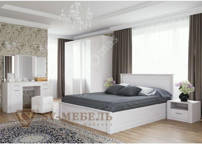 Гамма 20, Кровать двойная 1,8*2,0, Спальни, Кровати, Стоимость 10787 рублей., фото 4