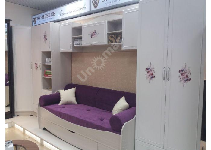 Акварель-1, Кровать одинарная ( с одним ящиком), Детская мебель, Детские кровати, Стоимость 9101 рублей., фото 7