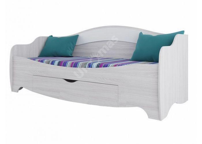 Акварель-1, Кровать одинарная ( с одним ящиком), Детская мебель, Детские кровати, Стоимость 9101 рублей.