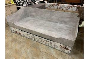 Грей, Кровать-диван с ящиками (0,9*2,0)