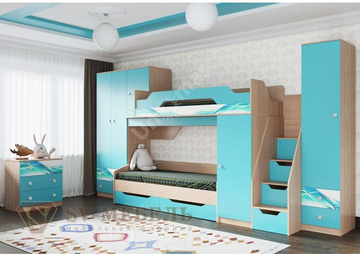 Сити 1, Кровать одинарная с ящиками  , Матрасы и Кровати, Кровати, Стоимость 7938 рублей., фото 3