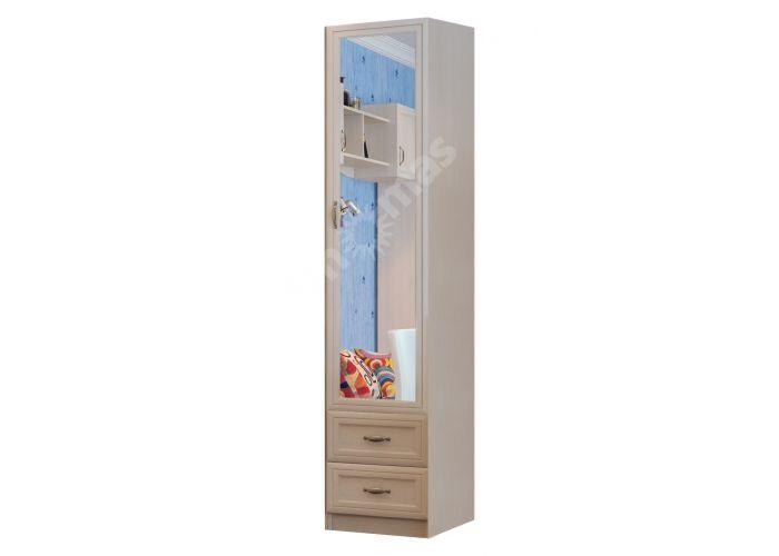 Вега, ДМ-11 Пенал с зеркалом, Детская мебель, Модульные детские комнаты, Вега, Стоимость 9302 рублей.