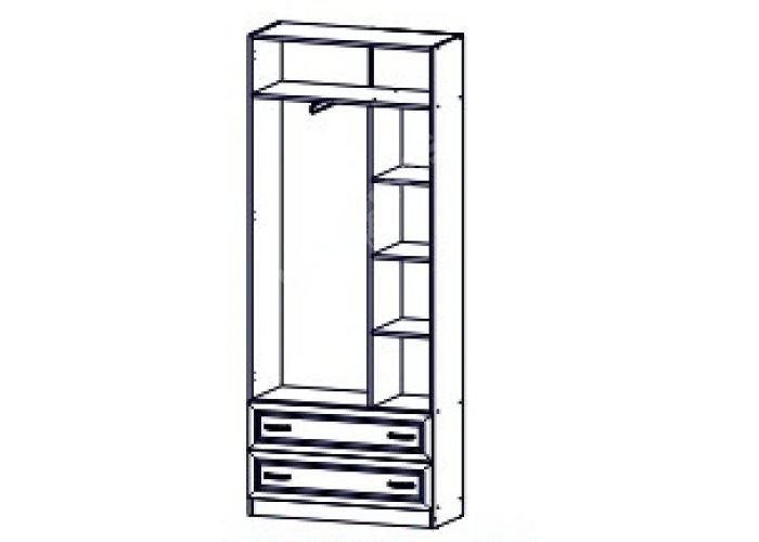 Вега, ДМ-02 Шкаф 2-х створчатый, Спальни, Шкафы, Стоимость 11178 рублей., фото 4