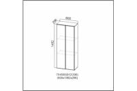 Вектор, ПН600/912 (296) Пенал-надстройка 600 (296)