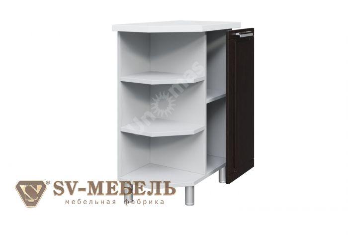 Геометрия, С400тп Стол-рабочий (торцевой с полками)