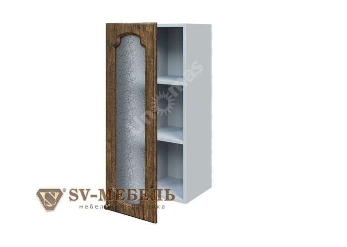 Классика Дуб антик, Ш300с/912 Шкаф навесной (со стеклом), Кухни, Модульные кухни, Классика Дуб антик (13950 руб./пог.м), Стоимость 4850 рублей.
