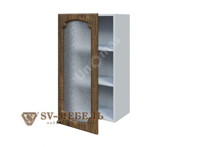 Классика Дуб антик, Ш400с/912 Шкаф навесной (со стеклом), Кухни, Модульные кухни, Классика Дуб антик (12500 руб./пог.м), Стоимость 4047 рублей.
