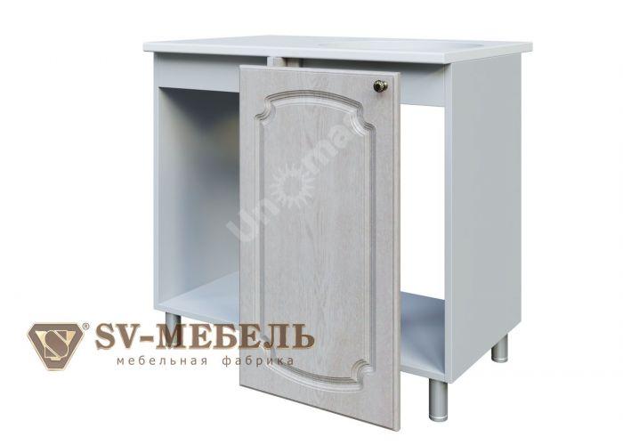 Классика Сосна белая, М1000у Стол под мойку (угловой) правый/левый, Кухни, Модульные кухни, Белые кухни, Стоимость 4467 рублей.