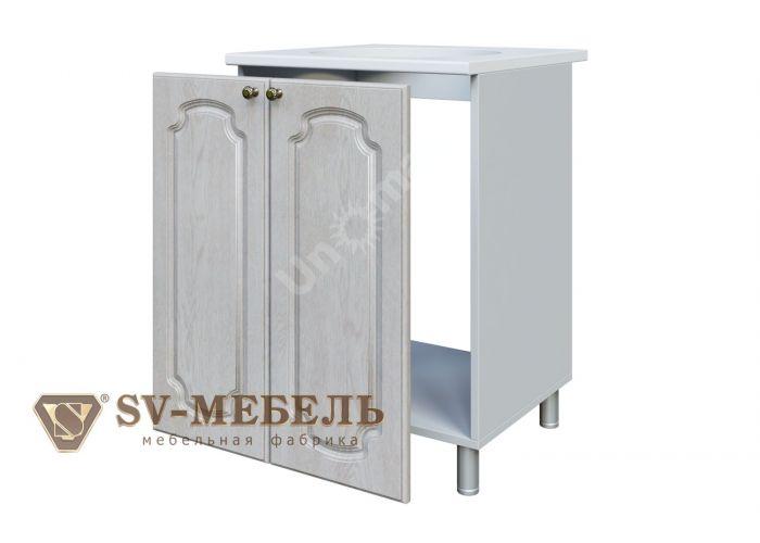 Классика Сосна белая, М600 Стол под мойку