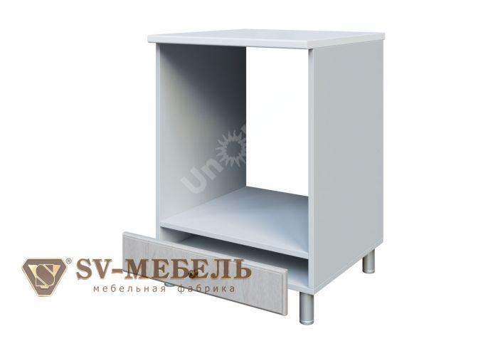 Классика Сосна белая, С600п Стол-рабочий (под плиту)
