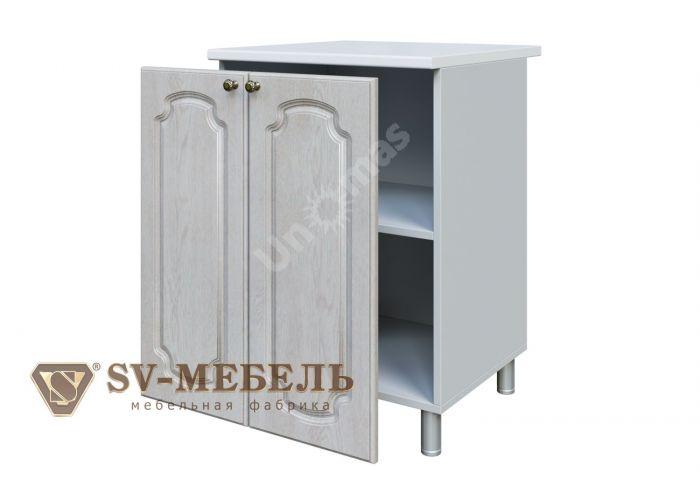 Классика Сосна белая, С600 Стол-рабочий, Кухни, Модульные кухни, Белые кухни, Стоимость 6991 рублей.