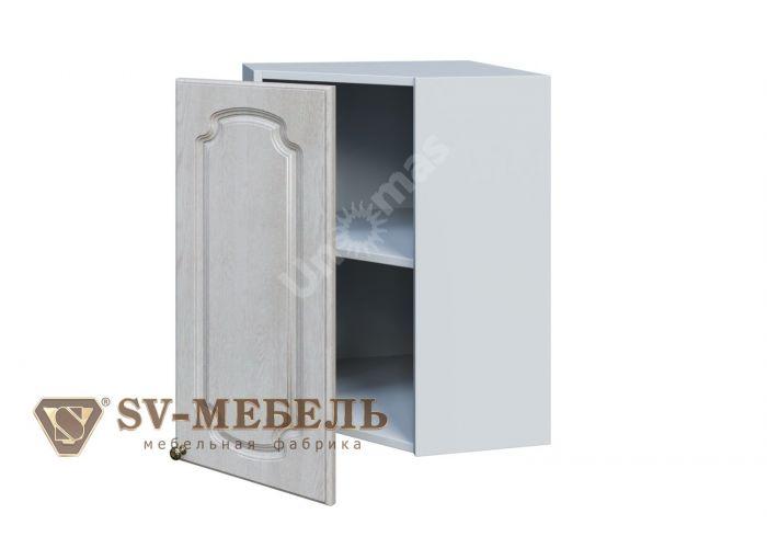 Классика Сосна белая, Ш550у/720 Шкаф навесной угловой, Кухни, Модульные кухни, Классика Сосна белая (12500 руб./пог.м), Стоимость 3992 рублей.