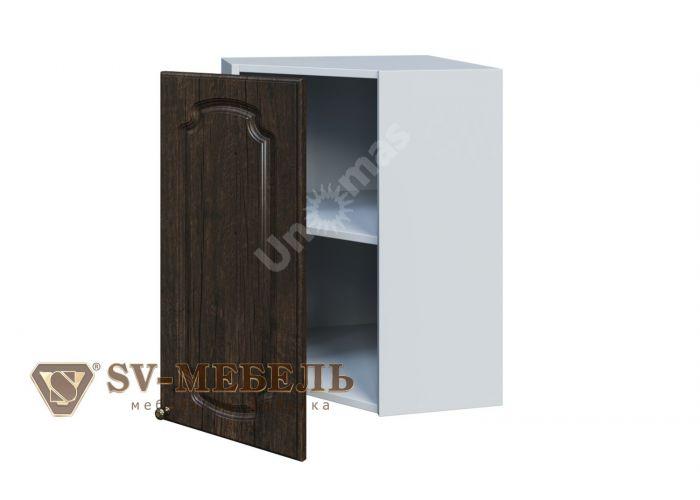 Классика Тиковое дерево, Ш550у/720 Шкаф навесной угловой, Кухни, Модульные кухни, Классика Тиковое дерево (13950 руб./пог.м), Стоимость 5367 рублей.