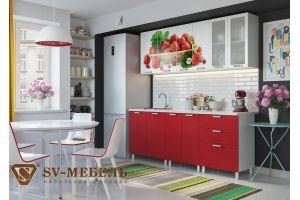 Кухня Клубника 2 м