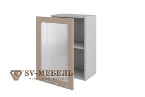 Волна Капучино, Ш500с/720 Шкаф навесной (со стеклом)
