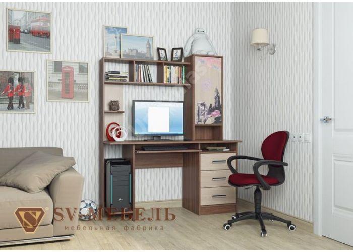 Стол компьютерный №6, Офисная мебель, Компьютерные и письменные столы, Стоимость 7960 рублей., фото 2