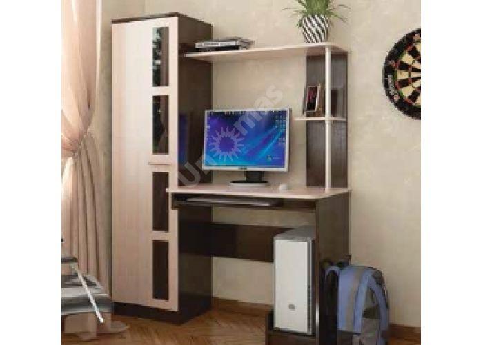 Стол компьютерный №1, Офисная мебель, Компьютерные и письменные столы, Стоимость 6757 рублей.