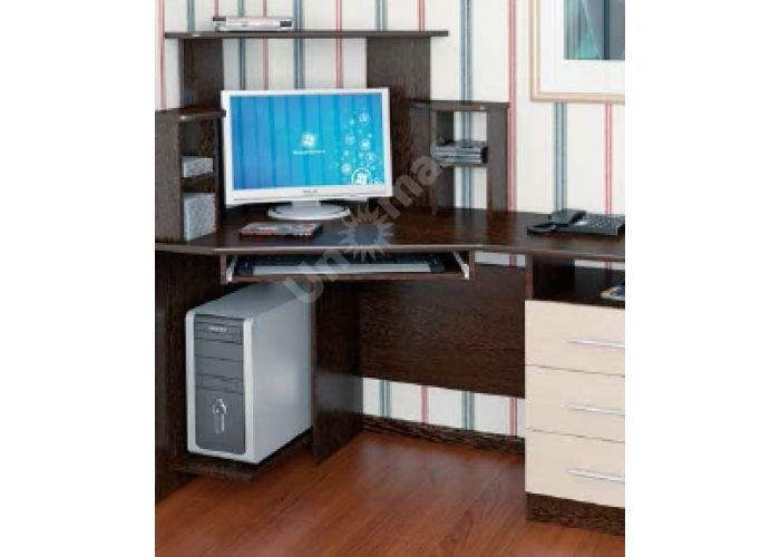 Стол компьютерный №3, Офисная мебель, Компьютерные и письменные столы, Стоимость 9612 рублей.