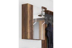 Визит-1 МДФ, Шкаф с зеркалом (навесной)