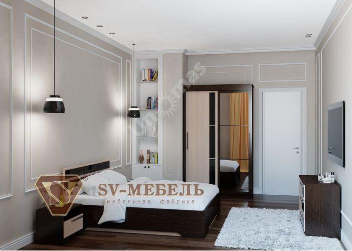 Эдем-2, Кровать (1.6х2), Спальни, Кровати, Стоимость 7304 рублей., фото 5