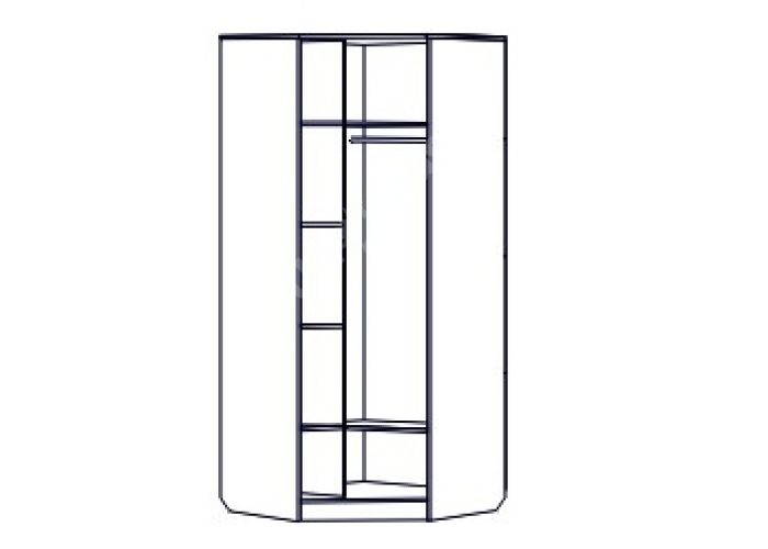 Эдем-2, Шкаф угловой, Спальни, Угловые шкафы, Стоимость 14054 рублей., фото 3