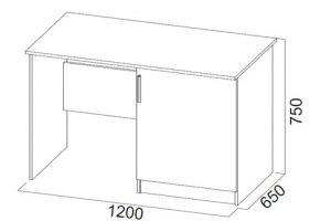 Эдем-5, Стол (с тумбой под холодильник)