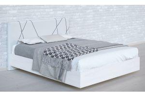 Кровать двойная №1 Абстракция (1,6х2,0м)