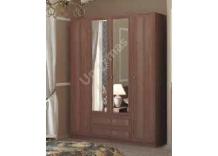Вега, ВМ-05 Шкаф с зеркалом двухстворчатый, Гостиные, Модульные гостиные системы, Вега, Стоимость 16212 рублей., фото 4