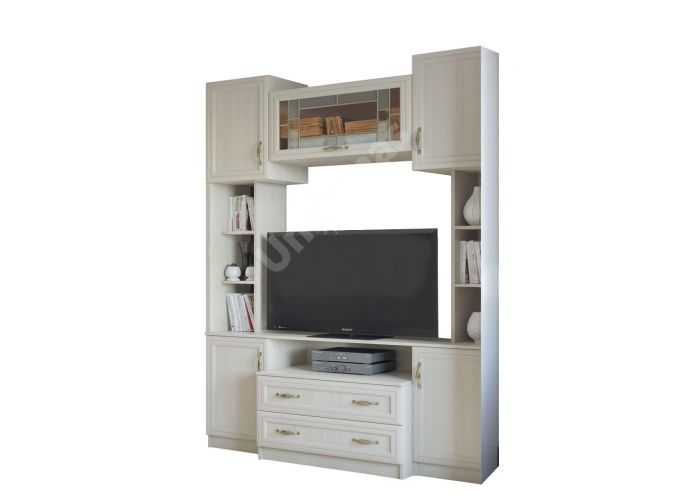 Вега, ВМ-08 центральная секция (тумба TV), Гостиные, Модульные гостиные системы, Вега, Стоимость 20478 рублей.