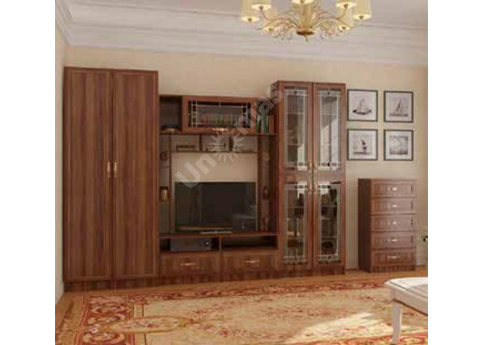 Вега, ВМ-04 шкаф 2-х створчатый, Гостиные, Модульные гостиные системы, Вега, Стоимость 13487 рублей., фото 4
