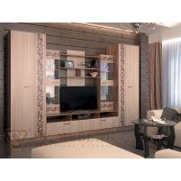 Гостиная №5 Тумба ТВ+ Шкаф универсальный