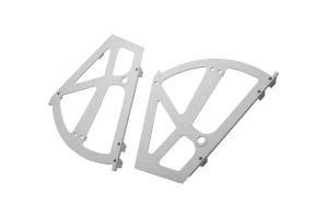 Механизм для обувных полок 2-х ур. белый, 17-03 white