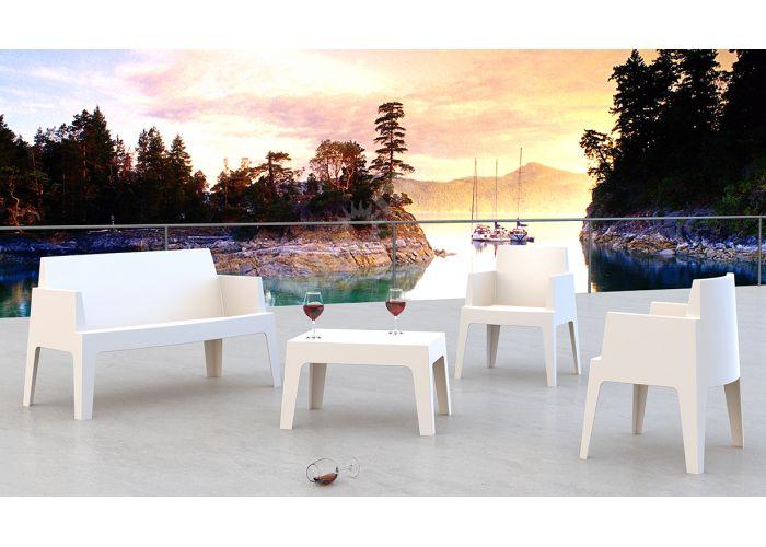 Бокс Сиеста диван 063 Белый, Пляж и сад, Уличная мебель, Диваны и скамьи, Стоимость 15165 рублей., фото 2