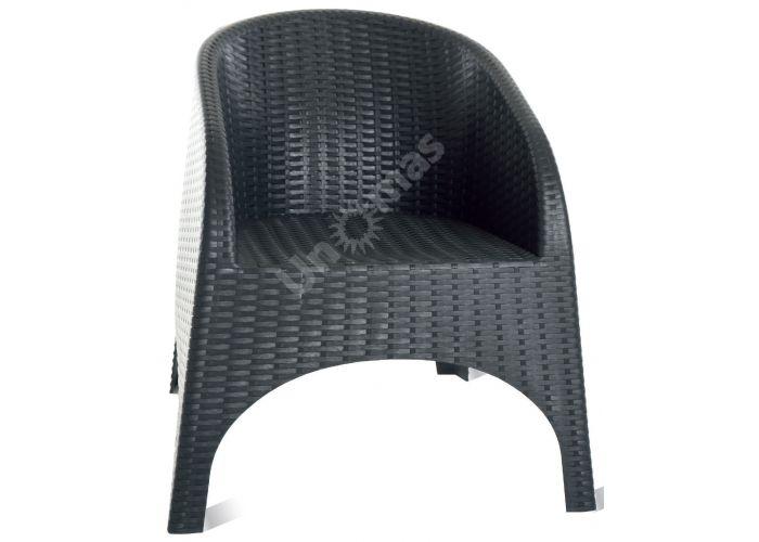 Аруба Сиеста кресло 804 тёмно-серое, Пляж и сад, Уличная мебель, Стулья и кресла, Стоимость 9870 рублей., фото 2