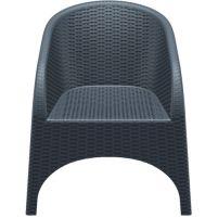 Аруба Сиеста кресло 804 тёмно-серое