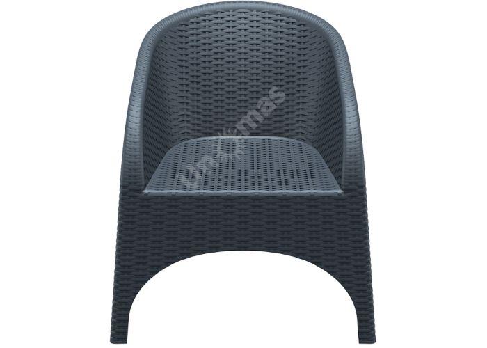 Аруба Сиеста кресло 804 тёмно-серое, Пляж и сад, Уличная мебель, Стулья и кресла, Стоимость 9870 рублей.