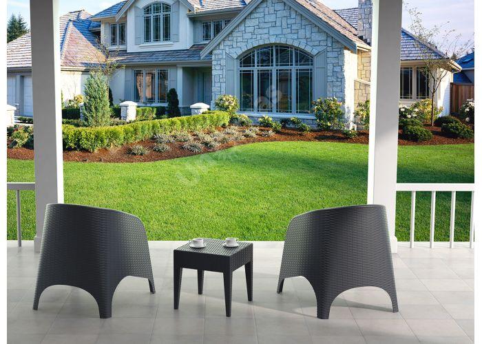 Аруба Сиеста кресло 804 тёмно-серое, Пляж и сад, Уличная мебель, Стулья и кресла, Стоимость 9870 рублей., фото 3